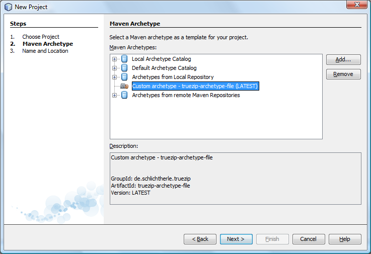 TrueZIP – Getting started with NetBeans